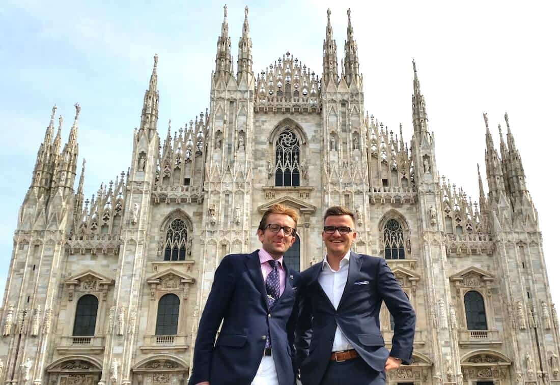 Relacja z Mediolanu