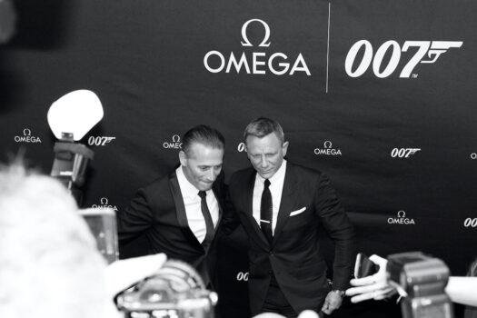 Prezentacja Omega Seamaster Diver 300M 007 Edition. Raynald Aeschlimann i Daniel Craig