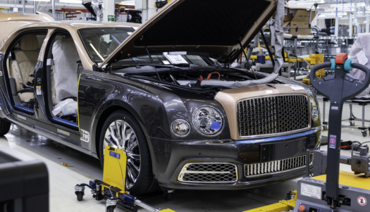 Bentley Mulsanne, Crewe